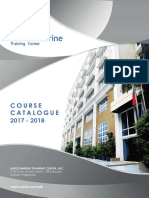 UMTC Course Catalogue 2017-2018