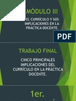 Trabajo Final Módulo III (Tutorias)