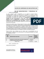 Sección IV Formulario Comprom Subcontrato