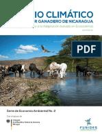 Cambio Climatico Sector Ganadero Nicaragua Abril 2017