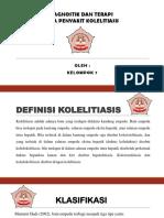 DIAGNOSTIK  & TERAPI KOLELITIASIS
