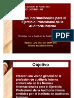 Normas Internacionales Auditoria Interna 2009