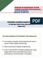 Materi Posbindu PTM Kalimulyo 2017