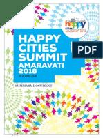 Happy Cities Summit 2018 Summary