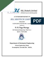 HBL Internship Report[1]