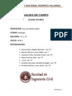 Geologia - Salida de Campo