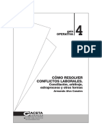 COMO RESOLVER CONFLICTOS LABORALES (conciliación, arbitraje, extraproceso y otras formas).pdf