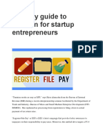 An Easy Guide to Taxation for Startup Entrepreneurs
