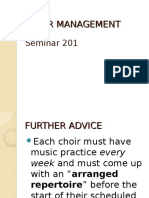 CHOIR MANAGEMENT.ppt