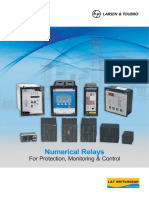 Numerical Relays Protection Relays Catalogue