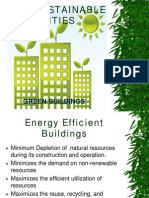 The Sustainable Buildings 1
