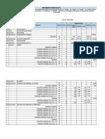 Metrado Estructuras Modulo II