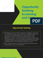 BP Ch. 2 Opportunity Seekingscreening Seizing