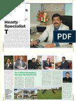 Seasonal Magazine - Confident Group - Cover Story