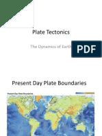 Plate Tectonics PPT