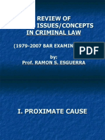 25 Most Intriguing Concepts in Crim Law - Review