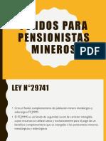 Fondos Para Pensionistas Mineros