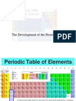 Chemistry the Periodic Table