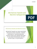 Mechanical Hazards