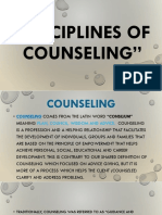 Disciplines of Counseling.pptx