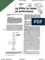 Design BHA for Better Drilling Jar Performance