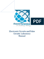 Electronic Circuits Lab Manual