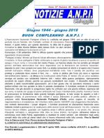 ANPI Chioggia, notiziario n.48