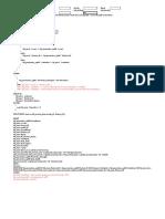 Control Data Setup