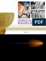 Cement as a Building Material