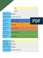 Rootina de Estudos com Tabela de Produção