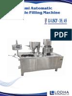 LSCF, Semi Automatic Capsule Filling Machine