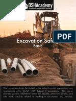 Excavation Safety Basics