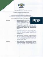 0615 SK BAN PT Akred S II 2017 Program Sarjana Perencanaan Wilayah Kota UT