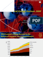 World Energy Outlook 2008 - OECD