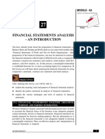 Financial Statement analysis by SACHIN Sheoarin