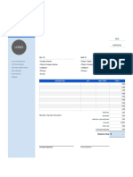 format invoice.xlsx