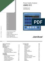 Janitza Manual UMG511 en(1)