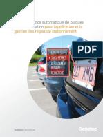 Reconnaissance de Plaques d Immatriculation Pour La Gestion de Stationnements