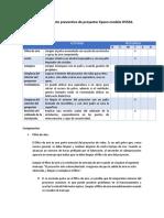 Plan de Mantenimiento Preventivo de Proyector Epson Modelo H553A