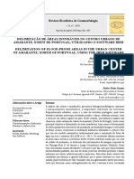 DELIMITAÇÃO DE ÁREAS INUNDÁVEIS NO CENTRO URBANO DE AMARANTE, NORTE DE PORTUGAL, UTILIZANDO O SOFTWARE IBER
