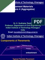 KSR Pavement Materials Lecture 4 Aggregates