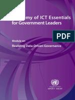 Realizing Data Driven Governance eBook