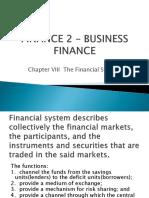 Finance 2 – Business Finance Ppt