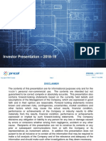 pricol investor presentation