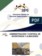 Administración y Control de Inventarios y Almacenes Presentación.ppt