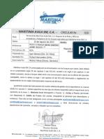 Circular-010 Reporte de Posicion Diario