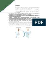 Prob. Principio Arquimedes y Estabilidad