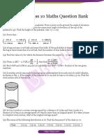 CBSE Class 10 Maths Question Bank (1)