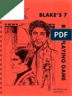 Blake's 7 - Core Rules
