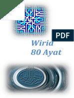 Wirid 80 Ayat Quran Dan Terjemahnya